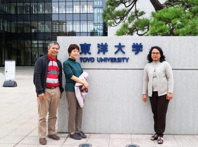 Visiting Faculty at Toyo University, Japan