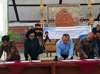 UNTRIM Melakukan Penandatanganan Nota Kesepahaman dengan Badan Pusat Statistik (BPS) Provinsi Bali