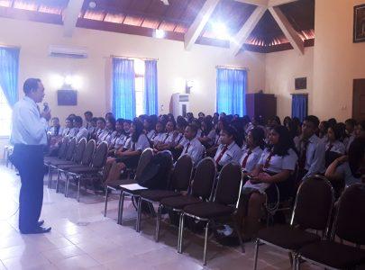UNTRIM Melaksanakan Pengumpulan Mahasiswa Untuk Menyambut Tahun Akademik 2019/2020 Semester Genap