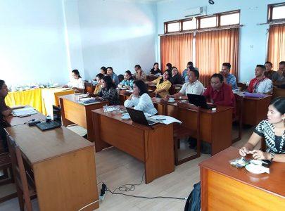 Rapat Dosen Universitas Triatma Mulya Dalam Persiapan Semester Genap Tahun Akademik 2019/2020