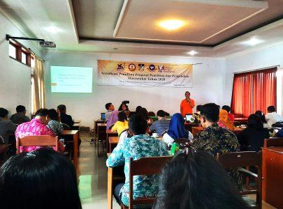 Universitas Triatma Mulya Menyelenggarakan Sosialisasi Penulisan Proposal Penelitian dan Pengabdian Masyarakat Tahun 2020