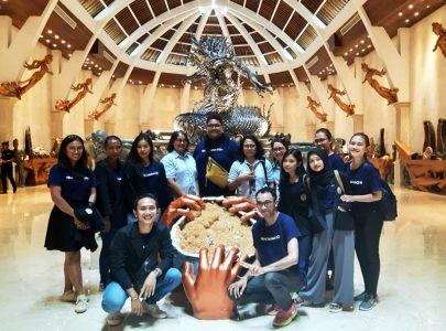 Study Visit Manajemen Produksi dan Pemasaran Internasional ke UC Silver Batubulan –  Bali
