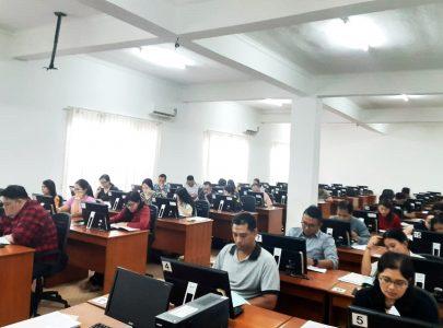 Pelaksanaan Test Toefl dan TPA Mahasiswa Baru Program Pascasarjana Magister Manajemen Universitas Triatma Mulya