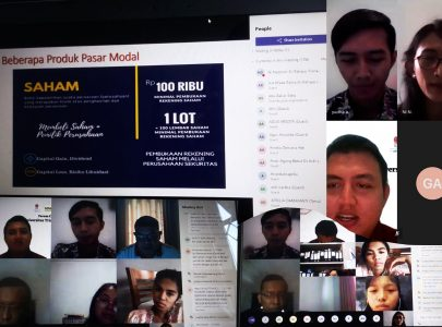 Kelompok Study Pasar Modal Galeri Investasi Fakultas Bisnis Triatma Mulya Menyelenggarakan Webinar Dengan Tema Smart Investment For Smart People