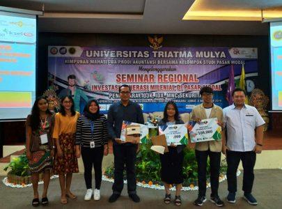 Seminar Regional Edukasi Investasi Generasi Milenial di Pasar Modal